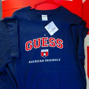 BNWT GUESS VINTAGE SPELLOUT TEE